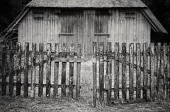 """""""Open this gate..."""" (Bilderwense) Tags: blackandwhite blancoynegro schwarzweiss schwarzweis monochrome monochrom sw bw bnw mono noiretblanc schafstall lüneburgerheide heide niedersachsen northerngermany germany forgotten discarded lostplaces decay decaying inexplore explored"""