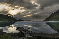 _DSC4957 (Duilio Guizzetti (dudu)) Tags: sony a77mk2 lofoten sunset travel water trip lanscape