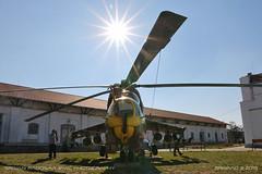 Mil Mi-24D Hind (srkirad) Tags: helicopter chopper mil mi24 hind aviation museum reptar aviationmuseum szolnok hungary russian hungarian sun sky sunny rotor blades