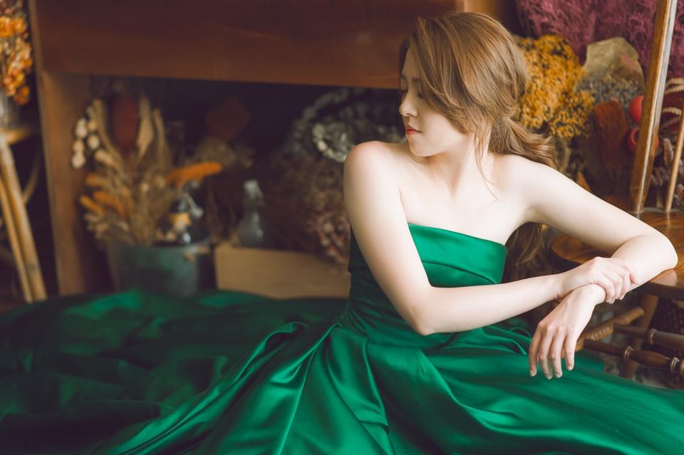 台南自助婚紗 氣質出眾的美麗新娘 007