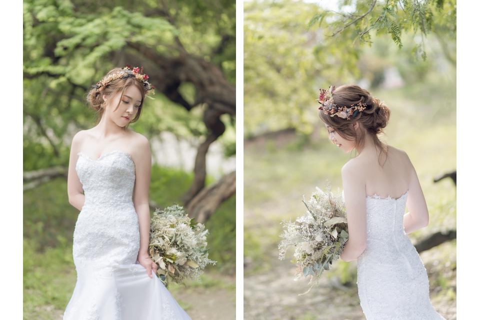 台南自助婚紗 氣質出眾的美麗新娘 003
