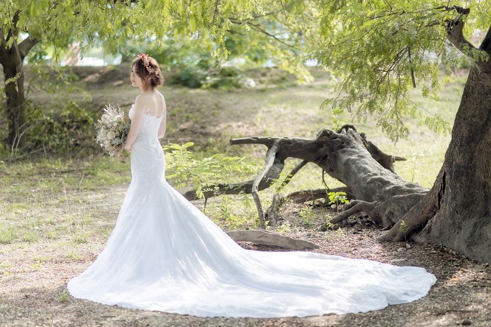 台南自助婚紗 氣質出眾的美麗新娘 001