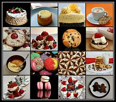 2019 Sydney: Cake and Desserts collage #7 (dominotic) Tags: 2019 food cake dessert biscuits macarons applepudding custard trifle gingerninjabiscuits donuts chocchipmuffin scone pavlova coconutbiscuits orangepoppyseedcake passionfruitcake brandysnapbaskets cream fruitsponge foodphotography yᑌᗰᗰy foodcollage sydney australia