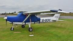 G-OCPC - Reims Cessna FA152 Aerobat II   Dunkeswell (V77 RFC) Tags: aviation aircraft cessna c150 c152 dunkeswell uk lightaircraft airfield