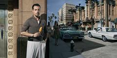 Allen Morris. (blaisearnold.net) Tags: dodge ford thunderbird miami floride usa us sun dress cars vintage 60s beach hydrant artdéco holydays icecream florida grease
