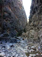 Samaria Gorge / Ждрелото Самария (mitko_denev) Tags: kreta griechenland крит гърция κρήτη crete greece hellas ελλάσ ελλάδα island samaria gorge samariagorge unesco tenativelist nationalpark φαράγγισαμαριάσ worldsbiospherereserve biospherereserve самария ждрело националенпарк юнеско резерват σαμαριά rocks скали gates nature природа