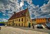 Rathaus Hirschau (P.Höcherl) Tags: 2019 nikon d800 samyang walimexpro 14mm uww rathaus hirschau oberpfalz bayern deutschland germany bavaria upperpalatinate sky himmel weisundblau heimat townhall