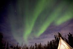 Aurora (rachel.chan) Tags: aurora borealis northernlight northern light sunrise wind dawn yellowknife yk canada
