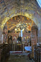 inside the church :) (green_lover (your COMMENTS are welcome!)) Tags: church paintings asklipio rhodes greece interior arch altar