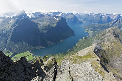 Norangfjorden frå Slogen