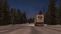 Touching down in finland (Trucker 19) Tags: 700 fh16 volvotruck ets2 eurotrucksimulator2 holland scandinavia nordicliner northen light dbschenker bridge moose snowstorm winter ferry cruiseship