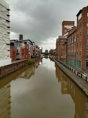 Chester (daveandlyn1) Tags: water canal shropshireunioncanal chester buildings reflection flowers footpath cameraphone smartphone pralx1 p8lite2017 psdigitalcamera mobilephone
