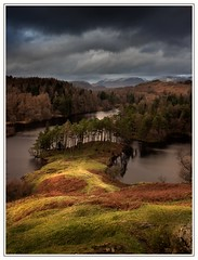 Darker Days (Nicks-2017) Tags: unitedkingdom cumbria thelakedistrict thelakes nature clouds cloudy moody mountains snow sunlight trees water pond nationaltrust canon eos6dmkii tarnhows outdoors fells woods autumn landscape weather light sky outside