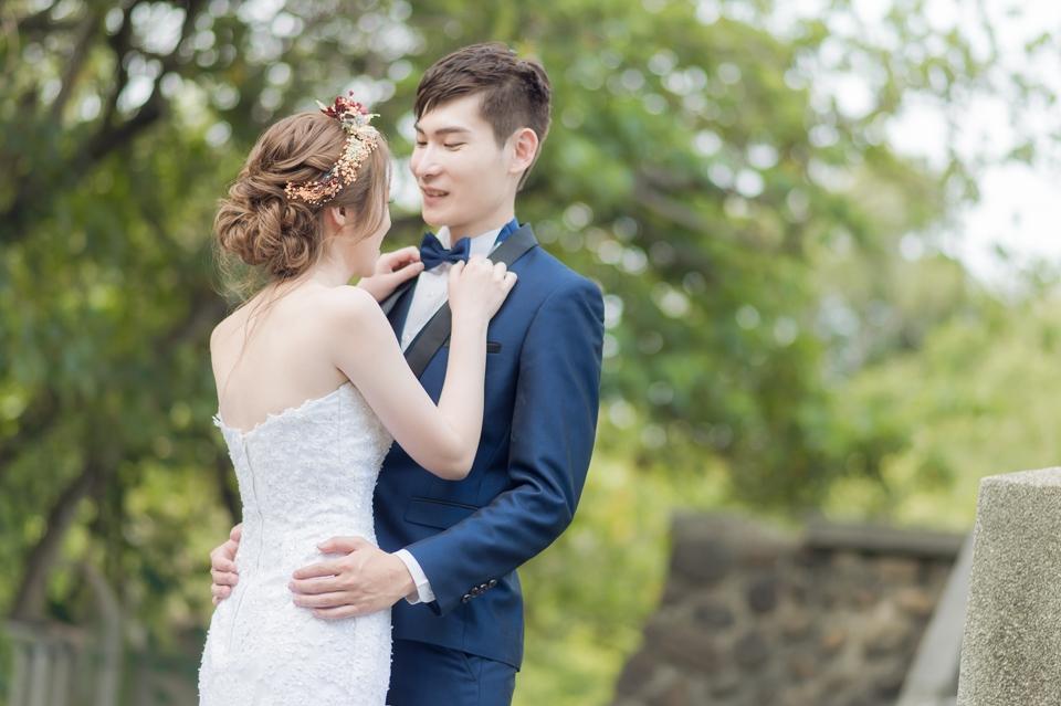 台南自助婚紗 氣質出眾的美麗新娘 002