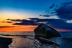 Rock in the Baltic Sea - 4984 (Peter Goll thx for +13.000.000 views) Tags: heiligendamm deutschland nikon balticsea germnay sonnenuntergang mirrorless sea beach ocean strand mecklenburgvorpommern nikonz6 nikonz nikkor meer sunset ostsee baddoberan