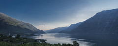 Hardangerfjord, Norway (StarCitizen) Tags: norway fjord mountains water summer sky clouds