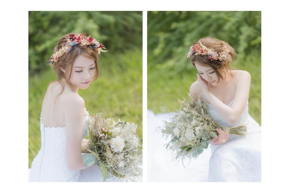 台南自助婚紗 氣質出眾的美麗新娘 024