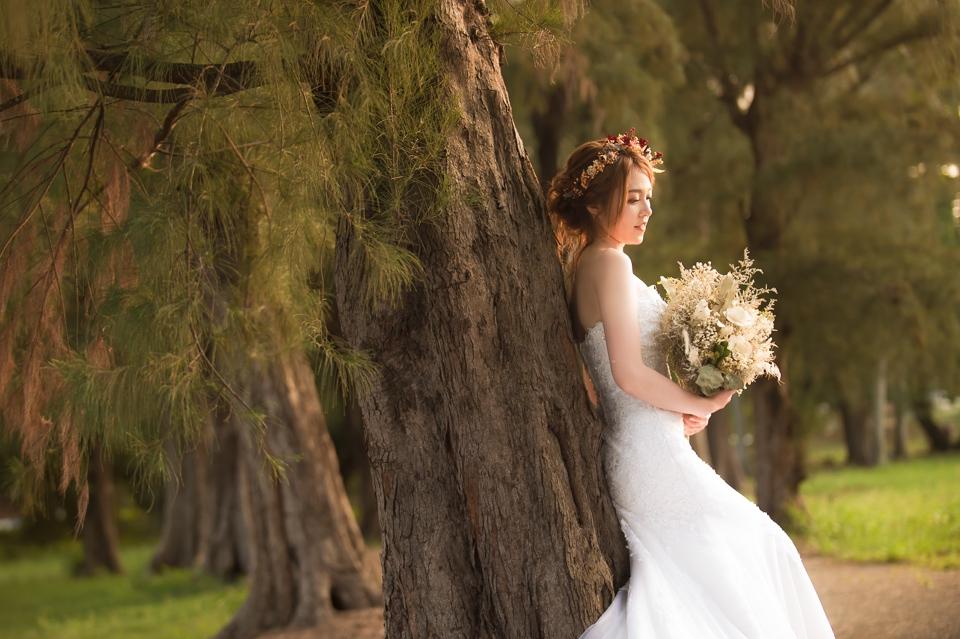 台南自助婚紗 氣質出眾的美麗新娘 012