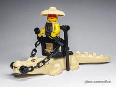 New tan crocodile from Lego Hidden Side set 70419 . . . . #lego #legominifigs #minifigures #tan #minifigure #minifigs #legohiddenside #hiddenside #afol #legomoc #legocity #legocmf #legoanimals  #brickcentral #brickvault #brickstagram #stuckinplastic #lego (Boatdoesnotfloat) Tags: crocodile crocodiles stuckinplastic legominifigs brickset legocrocodile lego minifigures legomoc legomania tan legocmf legoaddict brickstagram legocrocs brickcentral hiddenside legohiddenside legocity afol brickvault legophotography legostagram minifigure legohub crocs legoanimals minifigs 70419