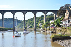 Calstock, Cornwall (Baz Richardson (catching up again)) Tags: cornwall calstock calstockviaduct rivertamar