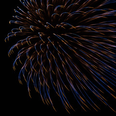 Fireworks Art (jasohill) Tags: explosions color art amazing city iwate red culture fireworks adventure rainbow colorful hachimantai dark photography life sky park japanese 2019 japan contrast