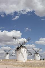 Windmills, Molinos de Viento (Daniel Trim) Tags: hides de el taray spanish spain nature wildlife bird birds birding steppe europe european windmill wind mill molinos viento campo criptana