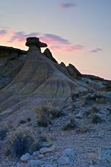 El pajaro loco 🐧 (explore 277) (pascual 53) Tags: largaexpo bardenasreales navarra canon eos5ds 50mm ocaso nubes colores naturaleza rocas cabezo