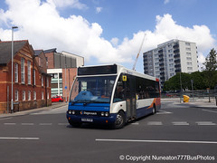PX06FXV 47326 Stagecoach Merseyside and South Lancashire in Chester (Nuneaton777 Bus Photos) Tags: stagecoach merseysideandsouthlancashire optare solo px06fxv 47326 chester