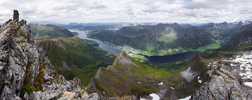 Panorama frå Trollkyrkja