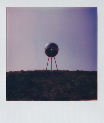Polaroid of an Alien Probe