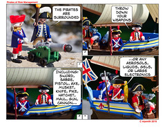 Throw Down Your Weapons (Edmonchuckle) Tags: playmobil comicstrip audit auditors