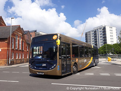 SN65ODM 27272 Stagecoach Gold Merseyside and South Lancashire in Chester (Nuneaton777 Bus Photos) Tags: stagecoach gold merseysideandsouthlancashire adl enviro 300 sn65odm 27272 chester