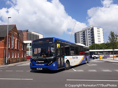 SN16OPL 26056 Stagecoach Merseyside and South Lancashire in Chester (Nuneaton777 Bus Photos) Tags: stagecoach merseysideandsouthlancashire adl enviro 200mmc sn16opl 26056 chester