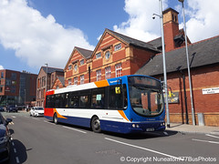 YJ09FWH 21260 Stagecoach Merseyside and South Lancashire in Chester (Nuneaton777 Bus Photos) Tags: stagecoach merseysideandsouthlancashire yj09fwh 21260 chester