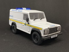 Corgi - Nine Double Nine Range - CCO7712 - -  Police Land Rover Defender - Northern Ireland - R. U. C. / Royal Ulster Constabulary - Miniature Die Cast Metal Scale Model Emergency Services Vehicle (firehouse.ie) Tags: corgi police northernireland ni landrover ulster ruc peelers royalulsterconstabulary cars car metal toy toys miniatures miniature model 4x4 models polizei policia landie polis polizia politi politie polizeiauto policja policie armourplated policija polizeiwagen paz4822 norniron