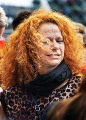 Portrait (D80_542290) (Itzick Away (until 1st. Oct.)) Tags: denmark copenhagen candid color colorportrait redhead redhair youngwoman face facialexpression streetphotography portrait d800 itzick