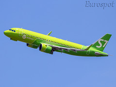 VQ-BTO Airbus A320 Néo S7. Delivery flight to OVB (@Eurospot) Tags: vqbto airbus a320 a320neo s7airlines toulouse blagnac