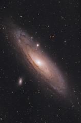Andromeda Galaxy (AstroBackyard) Tags: andromeda galaxy astrophotography night sky astronomy space stars telescope canon 60da william optics filter m31 messier 31 deep universe
