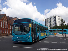 CX12DTK 3145 Arriva Buses Wales in Chester (Nuneaton777 Bus Photos) Tags: arriva buses wales wright pulsar cx12dtk 3145 chester