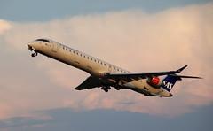 SAS Scandinavian Airlines, EI-FPO, MSN 15434, Canadair Regional Jet CRJ-900, 28.08.2019, HAM-EDDH, Hamburg (henryk.konrad) Tags: sas scandinavianairlines eifpo msn15434 canadairregionaljet crj900 hamburg hameddh henrykkonrad