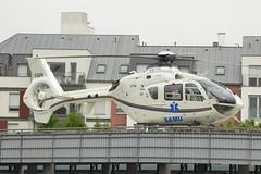 2019.04.23.01 CRETEIL - CHU Henri Mondor - Eurocopter EC-135-T1 (F-GUFB - cn.87) Sté Mont Blanc Hélicoptères - SAMU  . (alainmichot93 (Bonjour à tous - Hello everyone)) Tags: 2019 france europe ue unioneuropéenne frankreich francia frankrijk frança γαλλία франция îledefrance valdemarne creteil chuhenrimondor samu hélicoptère helicopter hubschrauber helicóptero elicottero helikopter ελικόπτερο вертолет eurocopter airbushelicopters eurocopterec135t1 fgufb montblanchélicoptères