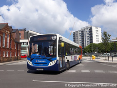 SN65OEV 27300 Stagecoach Merseyside and South Lancashire in Chester (Nuneaton777 Bus Photos) Tags: stagecoach merseysideandsouthlancashire adl enviro 300 sn65oev 27300 chester