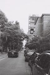 Washington Park Walk (ganzology) Tags: kodak medalist tmax 100 ektar lens ii bw black white nyc new york city