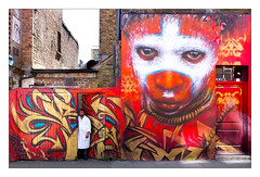 Street Art (Dale Grimshaw), East London, England. (Joseph O'Malley64) Tags: thebuiltenvironment newtopography newtopographics manmadeenvironment manmadestructures buildings structures