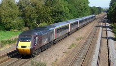Blood on her nose! (The Black Country Spotter) Tags: class43 crosscountry trains highspeedtrain hst intercity125 43321 43303 edinburgh plymouth hagghill tupton derbyshire networkrail britishrailways