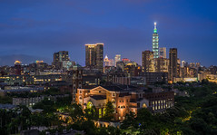 Nightview/Taipei 101 (Changyou Lee) Tags: taiwan taipei 台北 101 night architecture outside 夜景 sunset