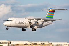 SE-DSR British Aerospace Avro RJ100 BRA - Braathens Regional Airlines (Andreas Eriksson - VstPic) Tags: sedsr british aerospace avro rj100 bra braathens regional airlines