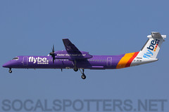 G-JECM (SoCalSpotters) Tags: gjecm bee socalspotters dh8d dash8 dhc8 manchester flybe
