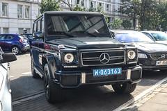 Poland CD (Kuwait) - Mercedes- AMG G 63 2016 W463 (PrincepsLS) Tags: poland polish diplomatic license plate warsaw spotting 063 kuwait mercedesamg g 2016 w463
