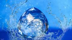 #Blue #Azul - 7315 (✵ΨᗩSᗰIᘉᗴ HᗴᘉS✵85 000 000 THXS) Tags: blue azul bleu cristal crystal water photoshop manipulation splash lookingcloseonfriday macro close closeup belgium europa aaa namuroise look photo friends be yasminehens interest eu fr party greatphotographers lanamuroise flickering sony sonya7m3 sonyilce7 sonyilce7m3